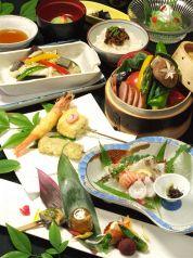 京の串天 ご馳走家 金の箸の写真