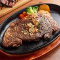 料理メニュー写真国産牛リブロースステーキ 250g