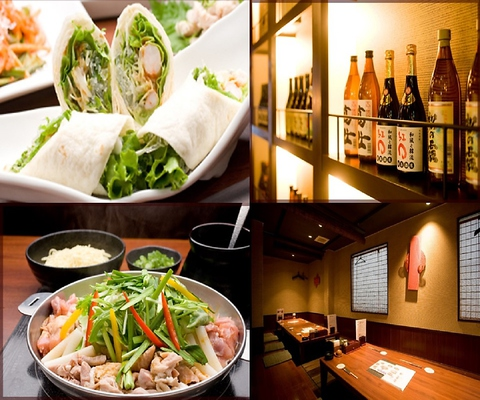 和食と韓国料理が楽しめる居酒屋で化学調味料を使わずに身体に優しい手造り料理