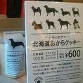 北海道原料で作った「ワンちゃんと飼い主が一緒に食べられるお菓子」や、様々な北海道商品を取り扱い!
