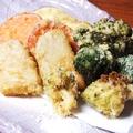 料理メニュー写真旬菜の天ぷら