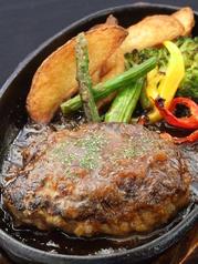 ●ハンバーグステーキ 和風JAPONEソース