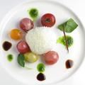 料理メニュー写真モッツァレラチーズ風カプレーゼ