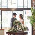 本格的な結婚式二次会が可能!全面ガラス張りの店内は光が差し込み雰囲気は◎お気軽にご相談ください♪