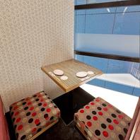 大中小の個室完備。渋谷での女子会や宴会ならお任せ◎