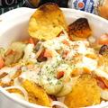 料理メニュー写真チーズたっぷりメキシカンナチョス