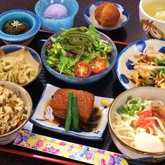 沖縄料理 花丁字 はなちょうじのおすすめランチ1