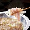 名物、伊勢の美稲豚の葱しゃぶしゃぶは一度は味わいたい逸品です。