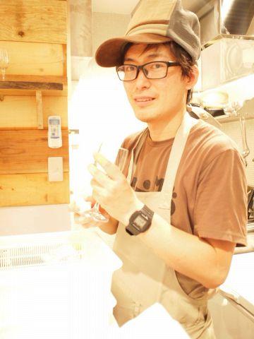 店主ジョン♪お料理が自慢のワインバル♪ashitaba☆8名~貸し切りもOK♪コ-ス有★