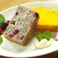 料理メニュー写真2種のパウンドケーキ