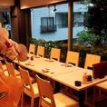 カップルの大人のデート、プライベートな宴会などにも最適です。
