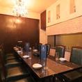 大切な人と、大切な会をルベッタで…個室も多数ご用意。掘りごたつ個室、テーブル個室、カウンター席、団体テーブル個室など、多数ご用意しております。