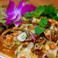 タイのホテル出身シェフが作る本場のタイ料理