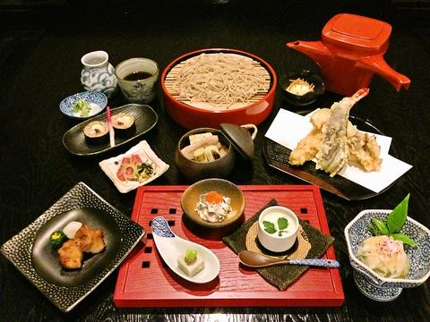 長野県初だしソムリエがいるそば店!だしの味をひきだし旨みを凝縮した料理を堪能。