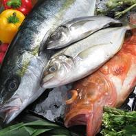 ◆季節に合わせたコース料理は地物産海鮮が魅力