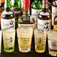◆ともすけのこだわり3◆「ハイボール酒場」と店名に冠するからには、もちろんウイスキーにもこだわっています!スコッチやバーボン、人気の知多など店主のオススメをランダムにご用意♪