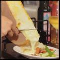 料理メニュー写真■ハイジのチーズ ラクレット 温野菜orマッシュポテト