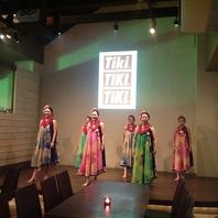 フラダンス、タヒチアンダンスショーの開催