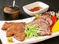 料理メニュー写真近江牛の味比べグリル