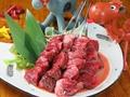料理メニュー写真炭焼き牛ハラミ串