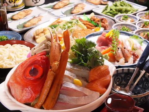 寄せ鍋等を含む飲み放題付コースは2980円より!【食べ放題・飲み放題はじめました】