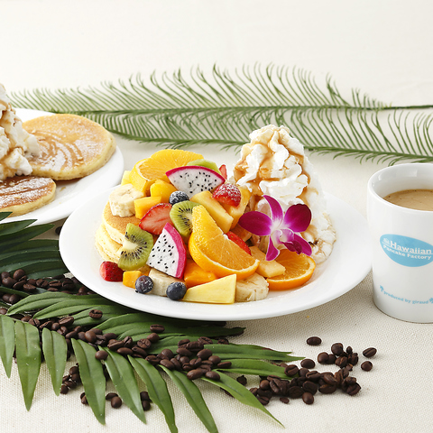 <ヨドバシ梅田8F>>ハワイアンパンケーキのお店!カフェも充実♪