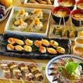 ◆ともすけのこだわり4◆宴会にはコースもおすすめ!季節に合わせて旬のコース内容をご用意しております♪詳細につきましては店舗までお問い合わせください!