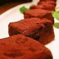 料理メニュー写真自家製生チョコレート