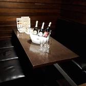 メインフロアのテーブル席。6名様までのお集まりに!