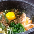 料理メニュー写真石焼ピビンバ