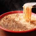 料理メニュー写真黒いカルボナーラ