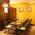 区切れる個室。会社の歓迎会・送別会や各種ご宴会に!使い勝手の良い個室は大人気の為お早めにご予約ください。