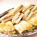料理メニュー写真ミックスサンドイッチ