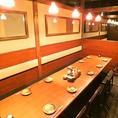 お靴を履いたまま移動が可能なテーブル席は女子会にも大人気。東陽町での各種ご宴会におすすめです!幅広いシチュエーションにご利用いただけます。雰囲気抜群の落ち着いた空間ですので、ゆったり牛タンをはじめとする東北郷土料理とお酒をご堪能ください。ご来店お待ちしております!