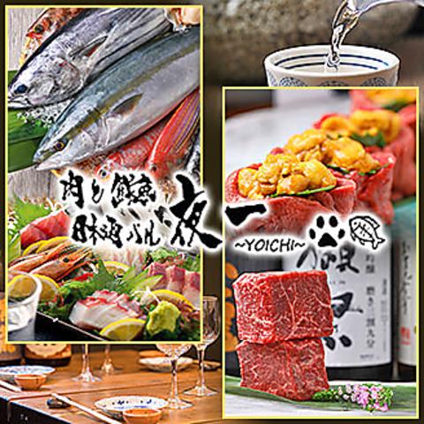 肉と鮮魚 日本酒バル 夜一 ~YOICHI~ 難波店