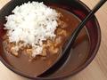 料理メニュー写真天然魚介出汁で作ったブイヤベーススープカレー