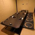 【中規模宴会もお任せ】広々とした和空間でお食事を楽しめます。完全個室ですので、周りを気にせずゆったりとお寛ぎください。