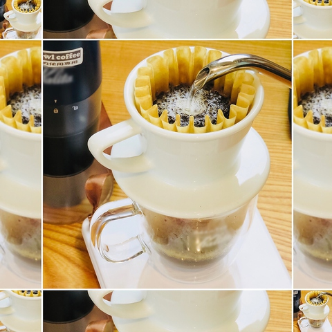 自分で淹れるコーヒーが楽しめます♪ご注文・お会計もセルフで安心です!