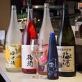充実のドリンクメニュー。キープボトルも可能!好みに合わせてドリンクを選ばせて頂くことも可能です。美味しい焼き鳥と日本酒をご堪能ください!
