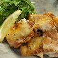 料理メニュー写真鶏の一枚焼き(たれ・柚子胡椒・にんにく)