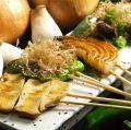 料理メニュー写真<野菜>焼き野菜盛り合わせ(5串)