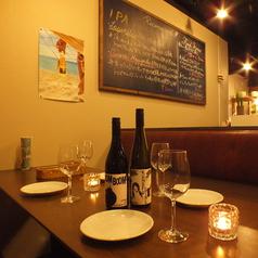 宴会用にレイアウト・テーブルセットをご用意致します!4~35名様までの宴会が可能◎ゆったりスペースで是非素敵なお時間を♪