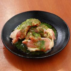 マテ茶鶏のバジルチキン