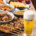 ◆上質な食材・新鮮食材・季節の食材にこだわり一品一品丁寧にお作りしています。旬の味わいをぜひお酒とともにお楽しみください。飲み放題付コース多数ご用意しております!