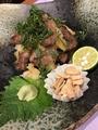料理メニュー写真和風おろしステーキ