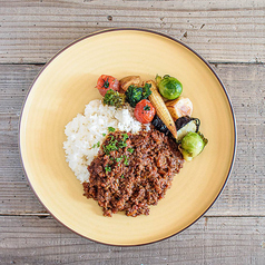 《keema curry plate》キーマカレープレート