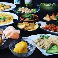 こだわりの素材とアジアン料理を堪能♪