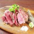 料理メニュー写真牛ハラミのグリルステーキ(200g)