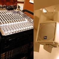 【貸切特典】音響設備・マイク・スクリーン有♪