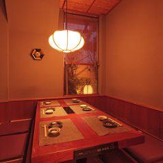 6名用のお席は、顔合わせや、ご宴会にもお使い頂けます。